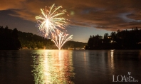 4th of July Wedding Lake Arrowhead - Zook Photography