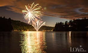 4th of July Wedding Lake Arrowhead - Zook Photography