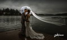 Not Even Rain can stop your beautiful mountain wedding - Zook Photography