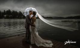 Not Even Rain can stop your beautiful mountain wedding - Zook Photography