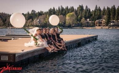 Lake Arrowhead resort wedding
