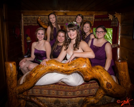 Arrowhead Wedding Party